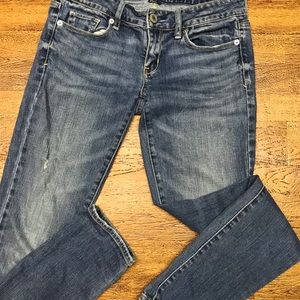 American Eagle stretch skinny jeans size 2